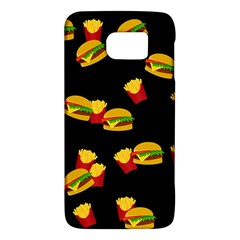 Hamburgers and french fries pattern Galaxy S6