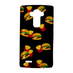 Hamburgers and french fries pattern LG G4 Hardshell Case