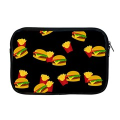 Hamburgers and french fries pattern Apple MacBook Pro 17  Zipper Case