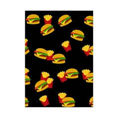 Hamburgers and french fries pattern Small Tapestry