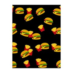 Hamburgers and french fries pattern Medium Tapestry
