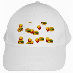 Hamburgers and french fries  White Cap