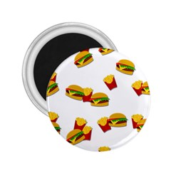 Hamburgers and french fries  2.25  Magnets