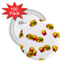 Hamburgers and french fries  2.25  Buttons (100 pack)