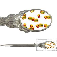 Hamburgers and french fries  Letter Openers