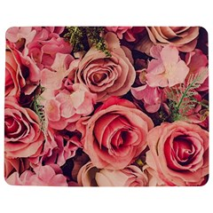 Beautiful pink roses Jigsaw Puzzle Photo Stand (Rectangular)