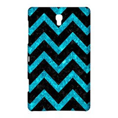 Chevron9 Black Marble & Turquoise Marble Samsung Galaxy Tab S (8 4 ) Hardshell Case