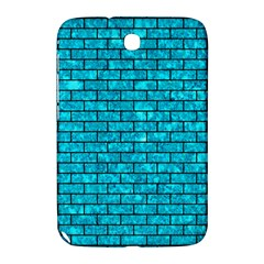 Brick1 Black Marble & Turquoise Marble (r) Samsung Galaxy Note 8 0 N5100 Hardshell Case