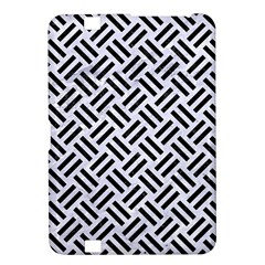 Woven2 Black Marble & White Marble (r) Kindle Fire Hd 8 9  Hardshell Case