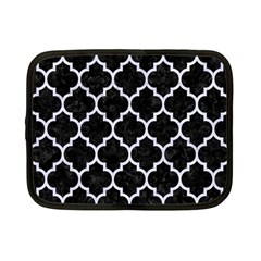 Tile1 Black Marble & White Marble Netbook Case (small)