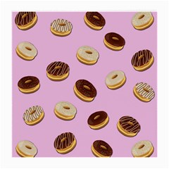 Donuts pattern - pink Medium Glasses Cloth (2-Side)