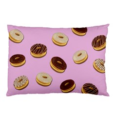 Donuts pattern - pink Pillow Case