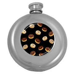 Donuts Round Hip Flask (5 Oz)