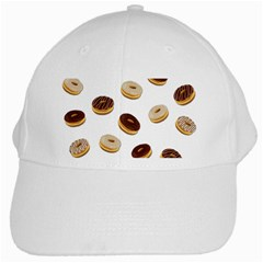 Donuts pattern White Cap
