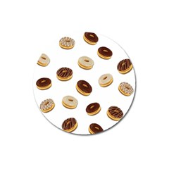 Donuts pattern Magnet 3  (Round)