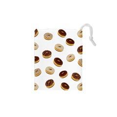 Donuts pattern Drawstring Pouches (XS)