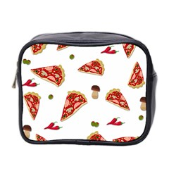 Pizza pattern Mini Toiletries Bag 2-Side