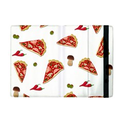 Pizza Pattern Apple Ipad Mini Flip Case