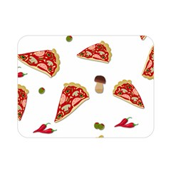 Pizza Pattern Double Sided Flano Blanket (mini)