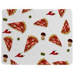 Pizza pattern Jigsaw Puzzle Photo Stand (Rectangular)