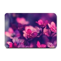 Blurry Flowers Small Doormat