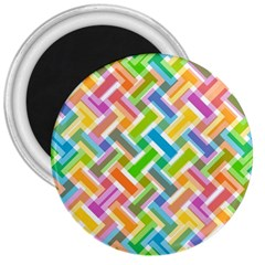 Abstract Pattern Colorful Wallpaper 3  Magnets