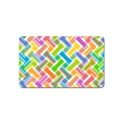 Abstract Pattern Colorful Wallpaper Magnet (name Card)