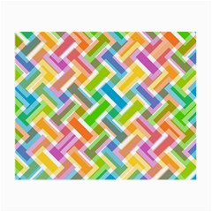 Abstract Pattern Colorful Wallpaper Small Glasses Cloth