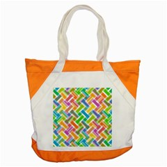 Abstract Pattern Colorful Wallpaper Accent Tote Bag