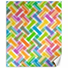 Abstract Pattern Colorful Wallpaper Canvas 8  X 10