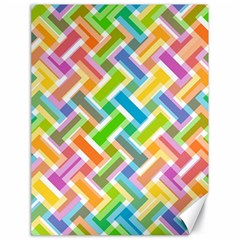 Abstract Pattern Colorful Wallpaper Canvas 18  X 24