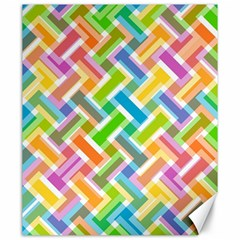 Abstract Pattern Colorful Wallpaper Canvas 20  X 24