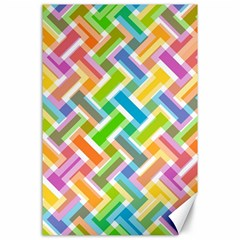 Abstract Pattern Colorful Wallpaper Canvas 24  X 36