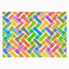 Abstract Pattern Colorful Wallpaper Large Glasses Cloth