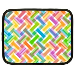 Abstract Pattern Colorful Wallpaper Netbook Case (large)