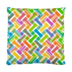 Abstract Pattern Colorful Wallpaper Standard Cushion Case (one Side)