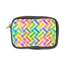 Abstract Pattern Colorful Wallpaper Coin Purse