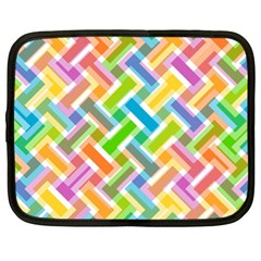 Abstract Pattern Colorful Wallpaper Netbook Case (xl)