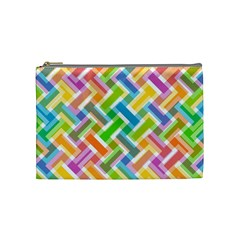Abstract Pattern Colorful Wallpaper Cosmetic Bag (medium)