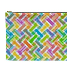 Abstract Pattern Colorful Wallpaper Cosmetic Bag (xl)