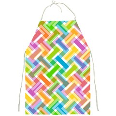 Abstract Pattern Colorful Wallpaper Full Print Aprons