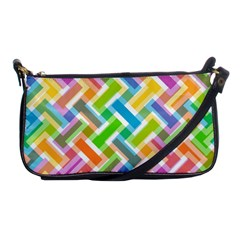 Abstract Pattern Colorful Wallpaper Shoulder Clutch Bags