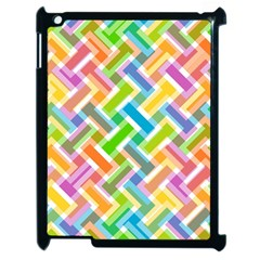 Abstract Pattern Colorful Wallpaper Apple Ipad 2 Case (black)