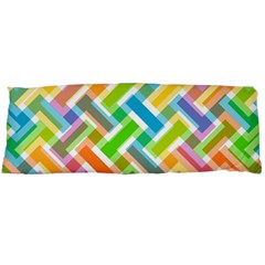 Abstract Pattern Colorful Wallpaper Body Pillow Case Dakimakura (two Sides)