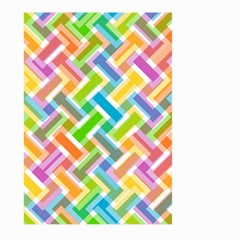 Abstract Pattern Colorful Wallpaper Large Garden Flag (two Sides)