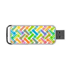 Abstract Pattern Colorful Wallpaper Portable Usb Flash (two Sides)