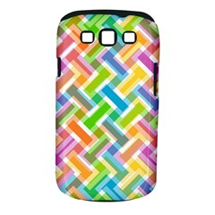 Abstract Pattern Colorful Wallpaper Samsung Galaxy S Iii Classic Hardshell Case (pc+silicone)