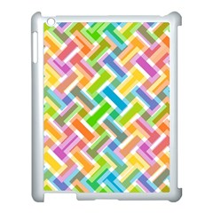 Abstract Pattern Colorful Wallpaper Apple Ipad 3/4 Case (white)