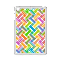 Abstract Pattern Colorful Wallpaper Ipad Mini 2 Enamel Coated Cases