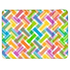 Abstract Pattern Colorful Wallpaper Samsung Galaxy Tab 7  P1000 Flip Case